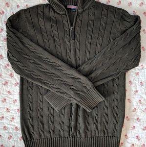 Men's Vineyard Vines quarter-zip sweater